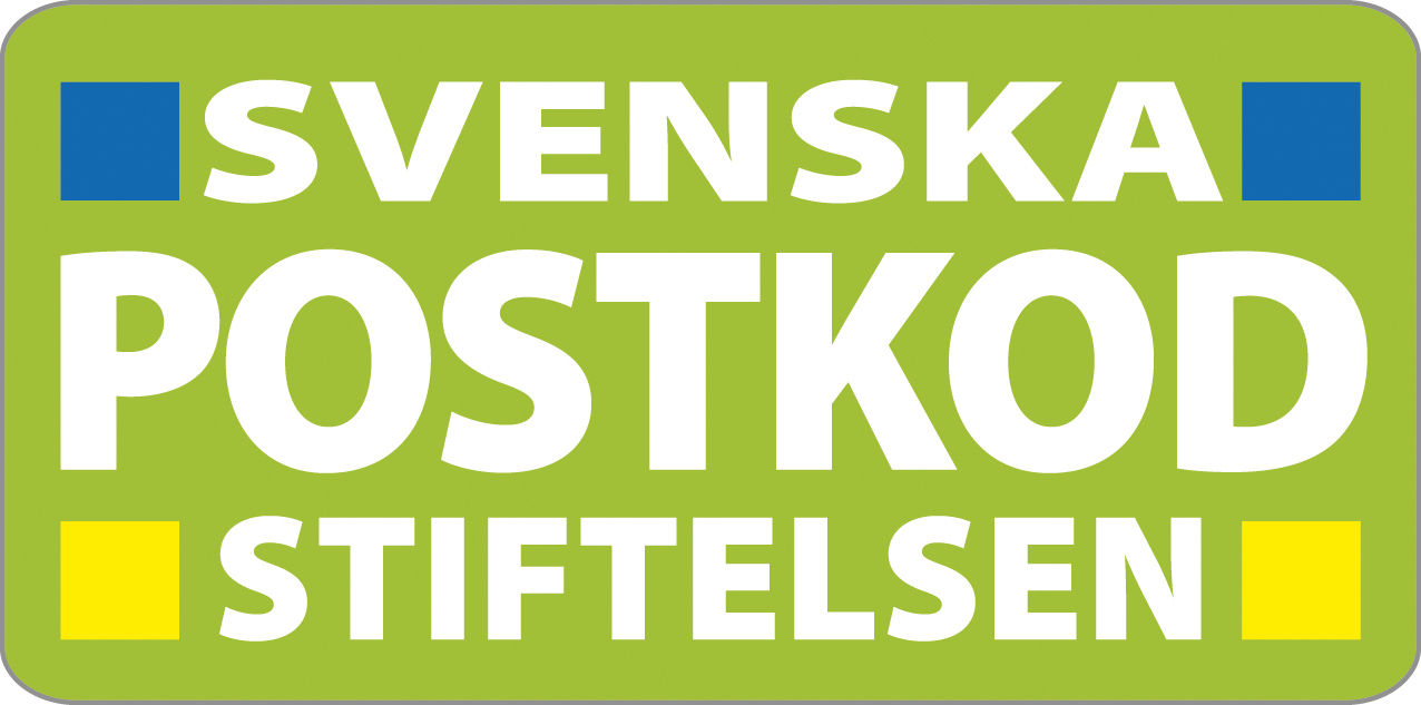 Logoen til Svenska postkod stiftelsen